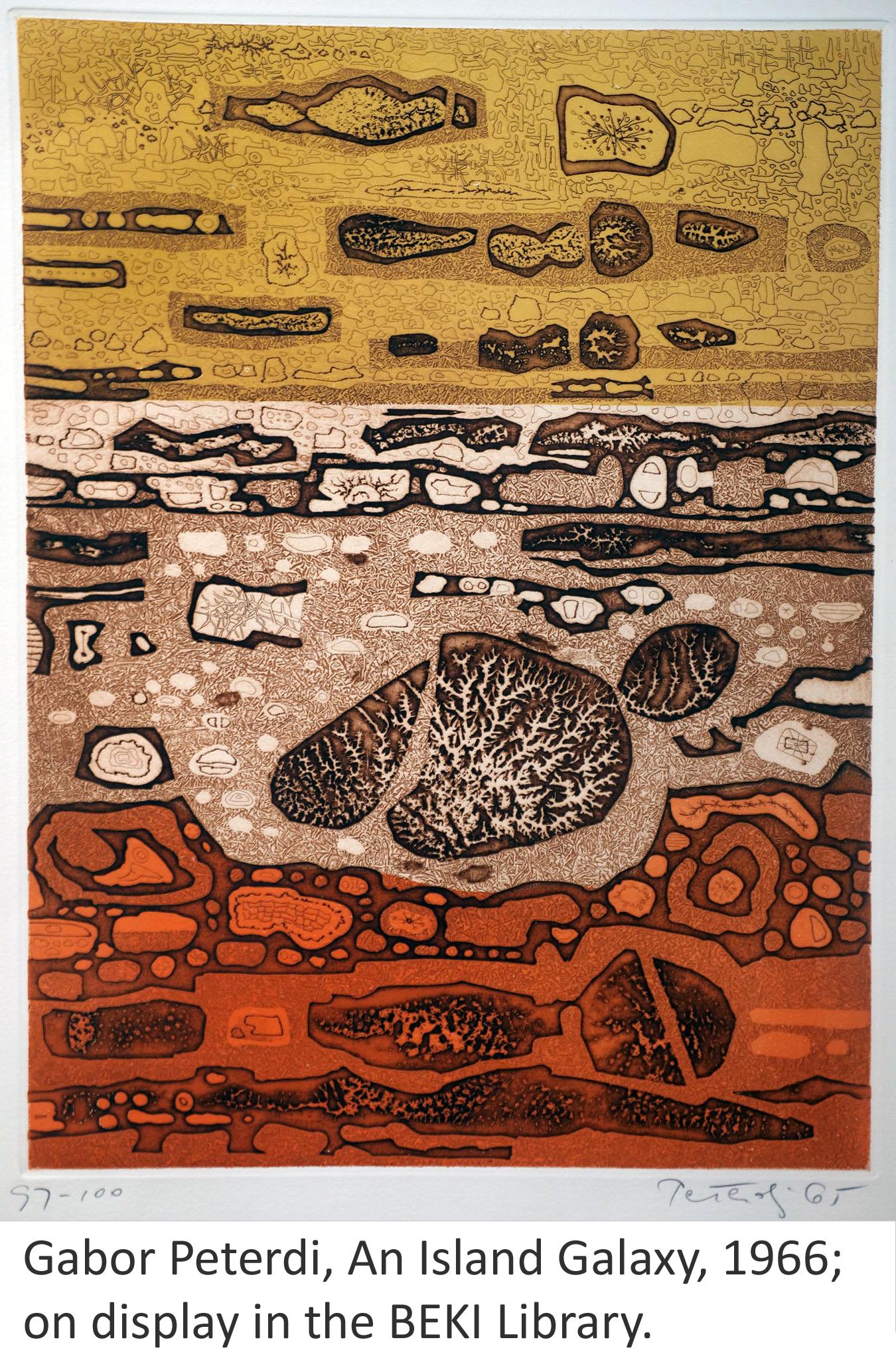 Artwork by the late BEKI member Jordan Abeshouse, prints available in the Sisterhood Giftshop